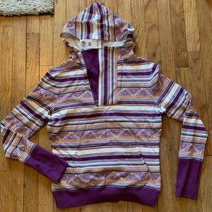 NWT Cinch Hooded Sweater